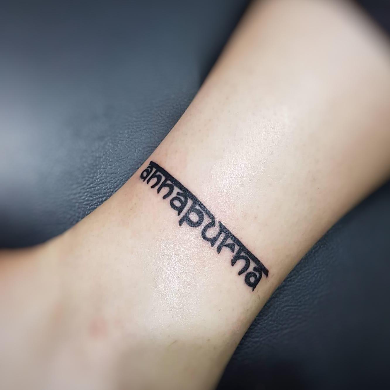 words tattoo minimal, Sumina shrestha - top female tattoo artist in nepal