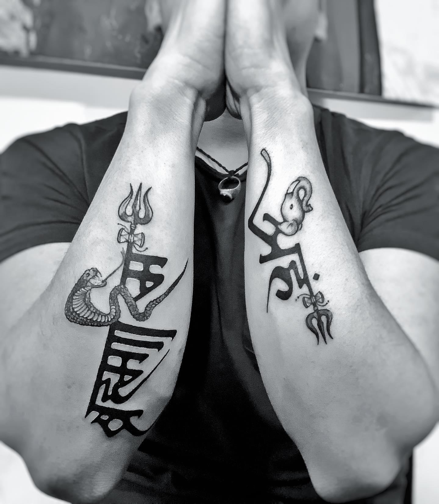 Men Tattoo in Nepal