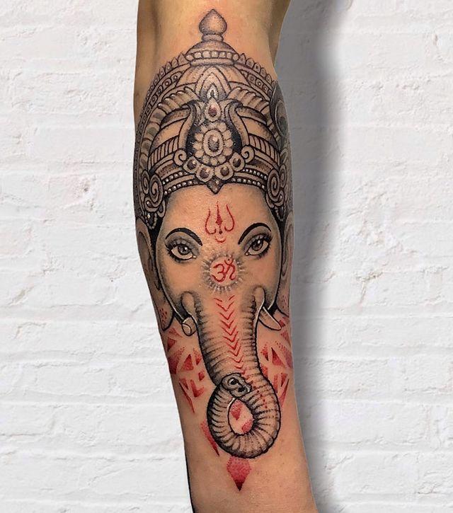 ganesh tattoo in nepal